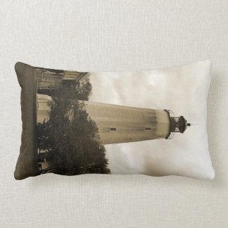 Sandy Hook Lighthouse Lumbar Cushion