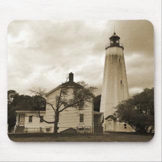 Sandy Hook Lighthouse Mouse Pad