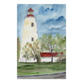 SANDY HOOK LIGHTHOUSE NEW JERSEY POSTER3 POSTERS