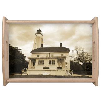 Sandy Hook Lighthouse Serving Tray