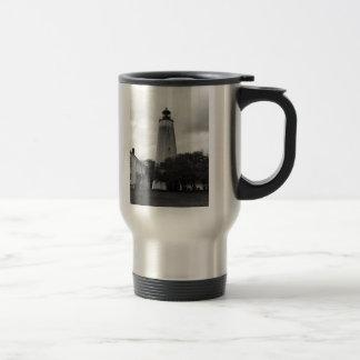 Sandy Hook Lighthouse Travel Mug