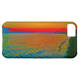 "'Sandy Hook Sunset10"" Iphone case iPhone 5C Cover"