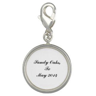 Sandy Oaks medallion Charm Bracelets