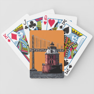 SANDY POINT LIGHT BICYCLE PLAYING CARDS