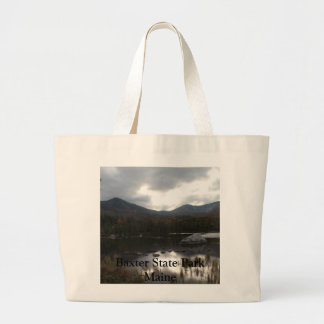 Sandy Stream Pond Baxter State Park Jumbo Tote Bag
