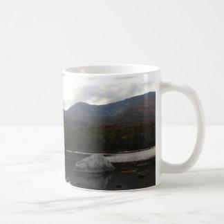 Sandy Stream Pond Baxter State Park Basic White Mug