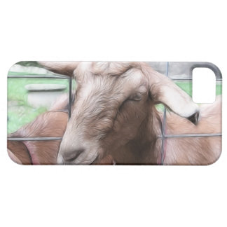 Sandy The Goat At The Gate iPhone 5 Covers