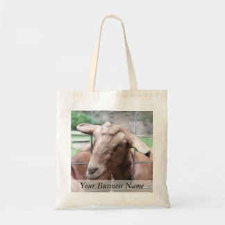 Sandy The Goat At The Gate Tote Bag