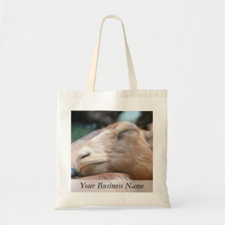 Sandy The Goat - Nap Time! Tote Bags