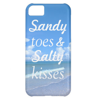 Sandy Toes And Salty Kisses iPhone 5C Covers
