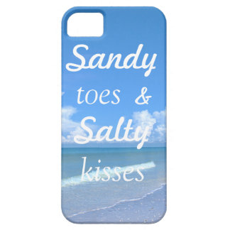 Sandy Toes And Salty Kisses iPhone 5 Cases