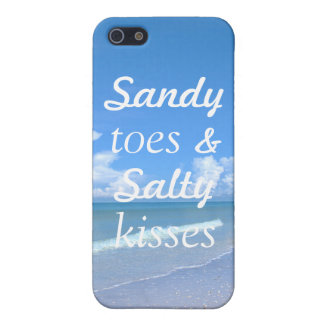 Sandy Toes And Salty Kisses iPhone 5/5S Covers