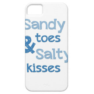 Sandy Toes Salty Kisses iPhone 5 Case