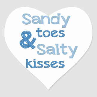 Sandy Toes Salty Kisses Stickers