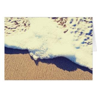 sandy wave greeting card