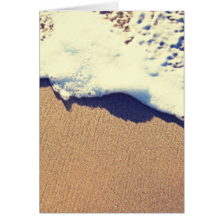 sandy wave note card