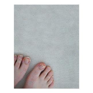 sandyfeet 21.5 cm x 28 cm flyer