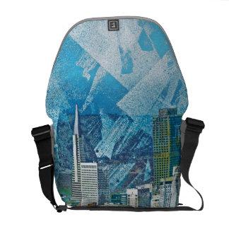SANFRAN City Cisco AKA Bay area day dreams Messenger Bag