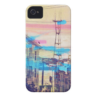Sanfran-see-peaks mission district san francisco Case-Mate iPhone 4 cases