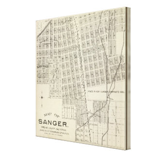 Sanger, California 2 Stretched Canvas Prints