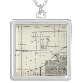 Sanger, California Silver Plated Necklace