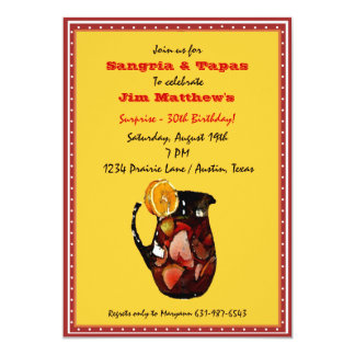 Sangria Invitation