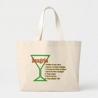 Sangria Large Tote Bag