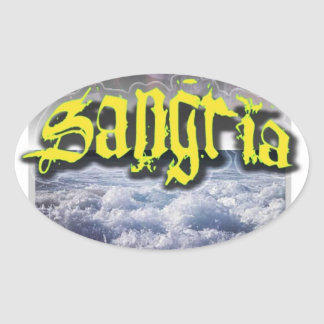 Sangria Sticker