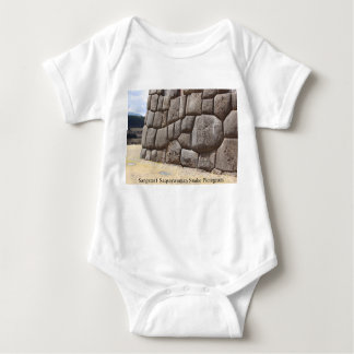 Sangstar1 Saqsaywaman Snake Pictogram Baby Bodysuit