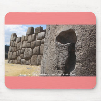 Sangstar1 Saqsaywaman Snake Pictogram Mouse Mat