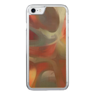 Sanguine Pastel Abstract Carved iPhone 7 Case
