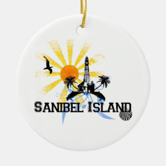 Sanibel Island. Christmas Ornament
