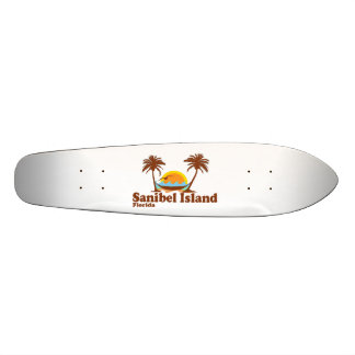 Sanibel Island. Custom Skate Board