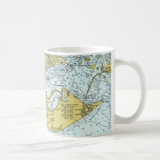 Sanibel Island Florida vintage map Basic White Mug