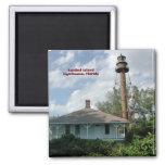 Sanibel Island Lighthouse Fl. Refrigerator Magnet