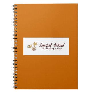 Sanibel Island Shells Notebooks