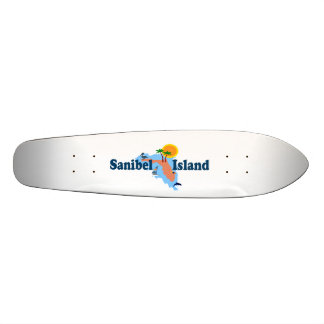 Sanibel Island Skate Deck
