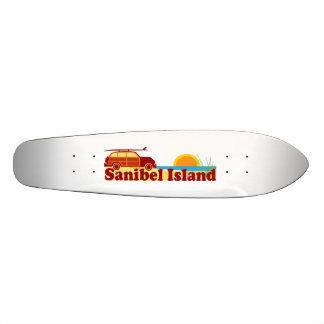 Sanibel Island. Skateboards