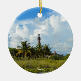 Sanibel Lighthouse Christmas Ornament