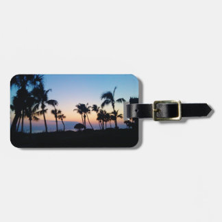 Sanibel Sunset Luggage Tag