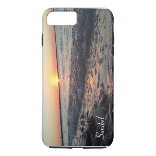 Sanibel Sunset phone case