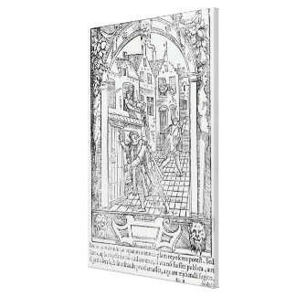 Sanitation in the Middle Ages Canvas Print