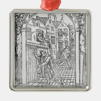 Sanitation in the Middle Ages Christmas Ornament