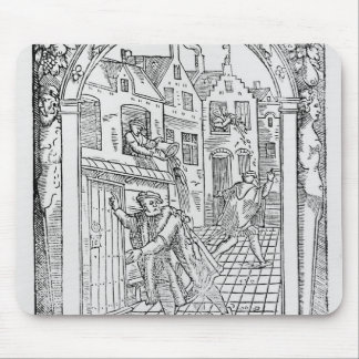 Sanitation in the Middle Ages Mouse Mat