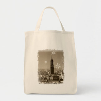 sank michaelis church, Hamburg, Christmas, michel Tote Bag