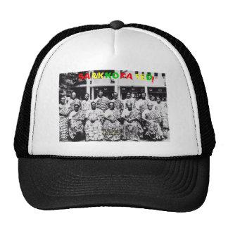 Sankofated Fishnet Baseball cap Mesh Hats