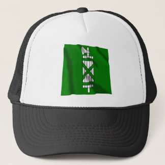 Sankt Gallen Waving Flag Trucker Hat