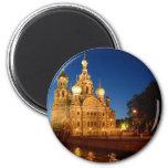 Sankt Petersburg 04 6 Cm Round Magnet