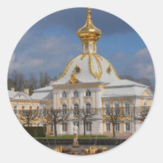 Sankt Petersburg 22 Round Stickers