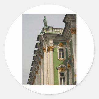 Sankt Petersburg 53 Round Sticker
